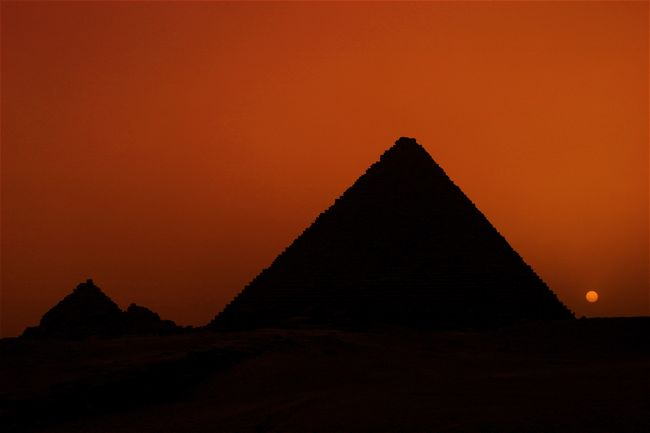 The sun appears to be setting on another era in Egypt's long history.  The Great Pyramid at Giza has been witness to many changes in the past almost 5,000 years, but one constant has been the survival of the Pharaoh figure.  When not being ruled by foreign countries, Egypt has seen it's supreme leader change outfits and names over time, going from robes to suits and ties, from pharaoh to president, but the results have been the same, king for life.  However this time might finally signal the end of one man setting himself up as a Pharaoh.