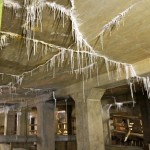 stalactites under the lincoln memorial